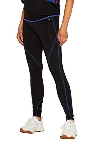 ESPRIT Maternity Damen Legging OTB Umstands Sporthose, Mehrfarbig (Black 001) , XL/XXL