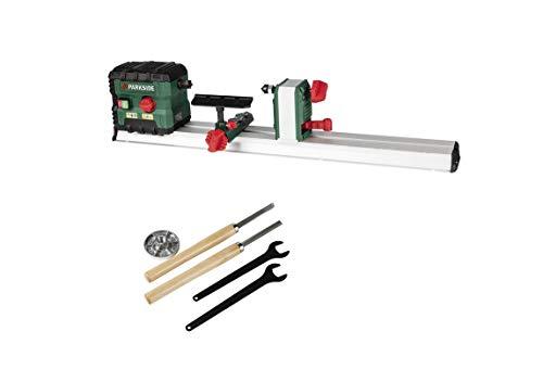Parkside - Torno para piezas de madera de hasta 60 cm de longitud, 550 W de potencia