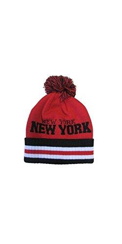 Bonnet Pompon Urbain Mode Skate Rap Cool Hip HOP d'hiver Chaud New York
