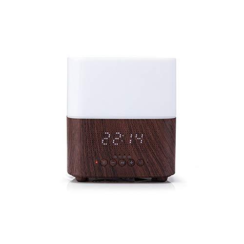 ZZYJYALG Humidificador de aire Plástico Gran capacidad Smart Bluetooth Aroma Esencial Aceite Difusor Difusor Tiempo Pantalla Reloj de alarma Sala de estar Dormitorio Dormitorio Dormitorio Evaporador C