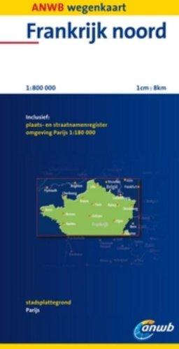 Frankrijk Noord: schaal 1:800.000