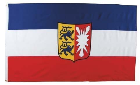 MFH Fahne 90x150 cm Deutsche Bundesländer (Schleswig-Holstein)