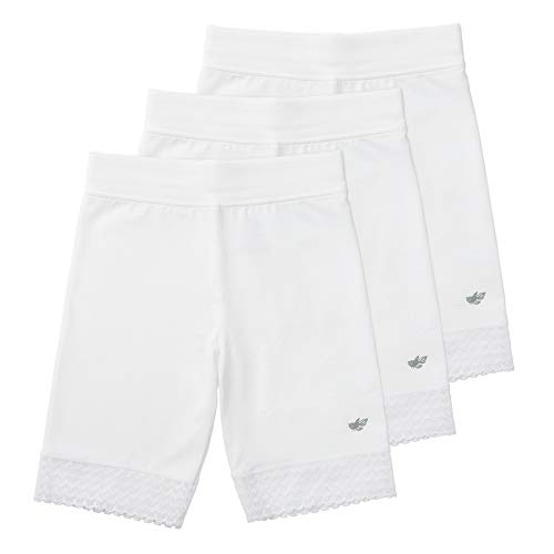 Lucky & Me (3 Pack Jada Girls Bike Shorts and Dance Shorts   Tagless   Super Soft Cotton with Lace Trim   Good Coverage
