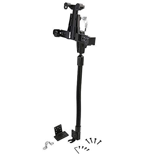 ARKON TAB58825MM Robust Locking Tablet Seat Rail or Floor Mount for iPad...