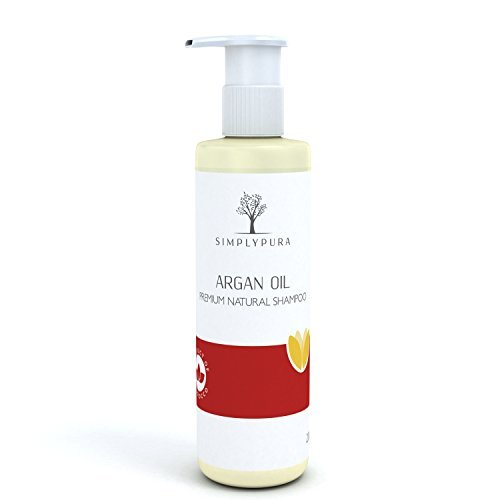 Best Natural Argan Oil Shampoo - Offers Volumizing Enriched Shine - Provides Holistic Nourishment & Restoration for all Hair Types - Pure Quality Moroccan Oil for Daily Use - 100% Certified Organic