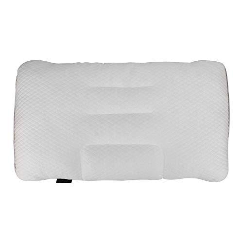 WAQU Almohada Ajustable ~ 50x30cm Almohada para Dormir de Altura Ajustable Cómoda Almohada de Manguera de PE Lavable para protección del Cuello