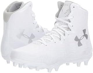 [アンダーアーマー] レディース 女性用 シューズ 靴 スニーカー 運動靴 UA LAX Highlight MC - White/White [並行輸入品]
