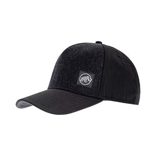 Mammut Herren Kappe Alnasca Cap, Black/Phantom, L-XL, 1191-00150