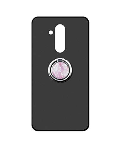 Sunrive Funda para Huawei G8, Silicona Mate Gel Carcasa Case Bumper Anti-Arañazos Espalda Cover Anillo Kickstand 360 Grados Giratorio(Mármol Rosa) + 1 x Lápiz óptico