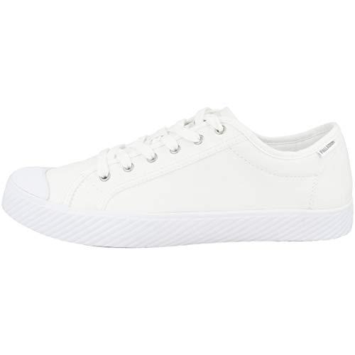 Palladium Damen Pallaphoenix Og Canvas Sneaker, Weiß (White 420), 41 EU