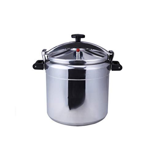 Explosieveilige snelkookpan, aluminium snelkookpan, met grote capaciteit commerciële gasfornuis snelkookpan, snelkookpan for soep for kleine huishoudelijke/outdoor picknick, etc.Cooking pot 3-80L