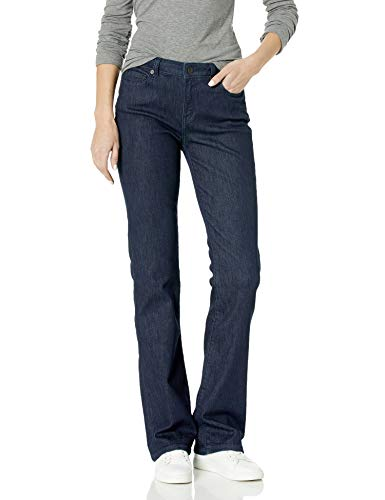 Amazon Essentials New Slim Bootcut Jean Jeans, Rinse, 0 Long