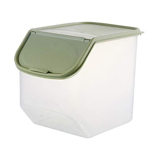 Futtercontainer Reisbehälter, Aufbewahrungsbox für Tierfutter, Organisation Hundefutter Katzenfutter Futtertonne Futterbehälter Trockenfutter Vorratsbehälter Mehl, Zucker, Reis, Nüsse, Bohnen