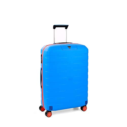 RONCATO Box Young trolley medio rigido tsa 4 ruote Arancio/Blu elettrico
