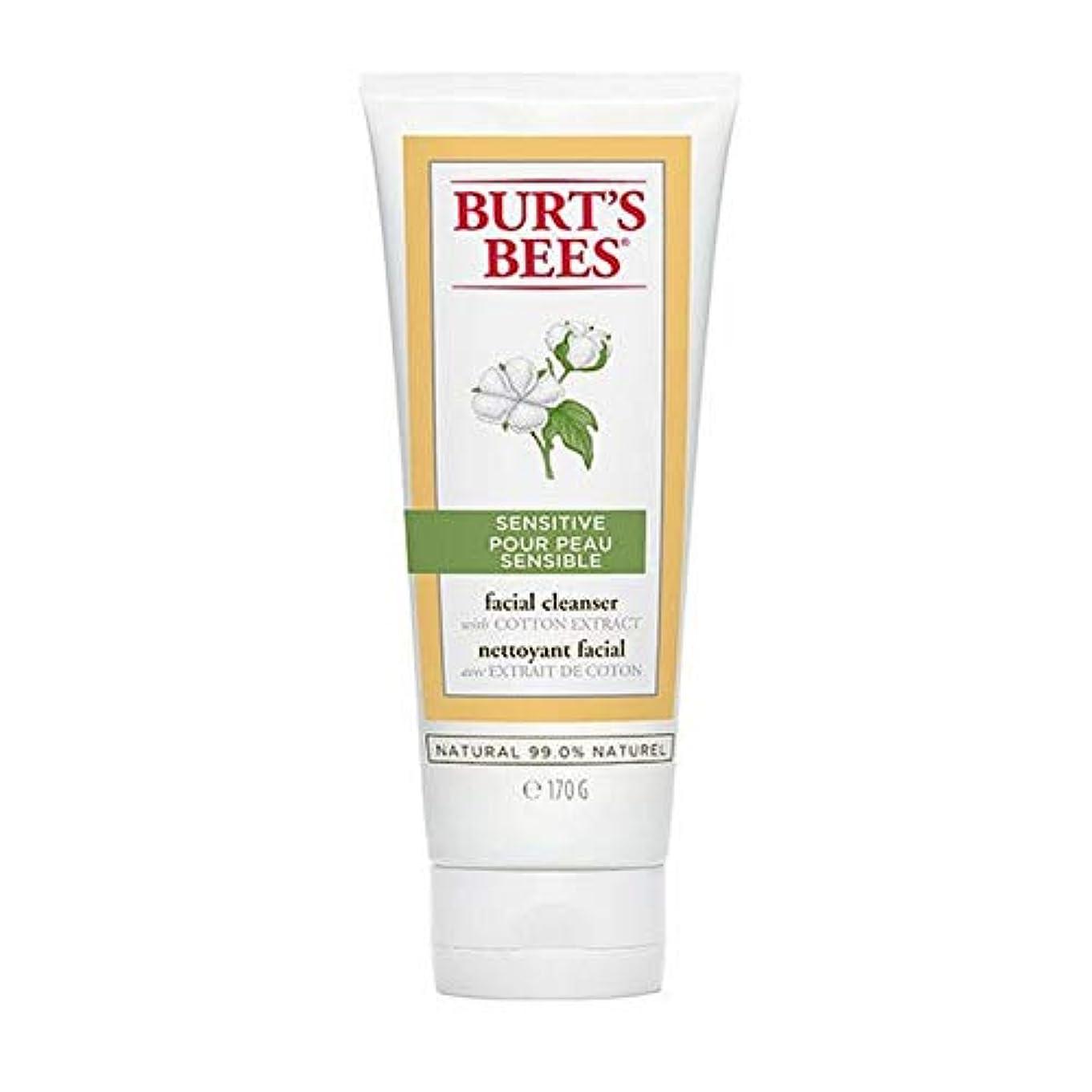 電子静脈囚人[Burt's Bees ] バーツビー敏感肌洗顔料の170グラム - Burt's Bees Sensitive Skin Facial Cleanser 170g [並行輸入品]