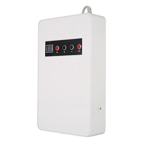 GOTOTOP 220V 50Hz 600mg/h Generador de Ozono Ozonizador Esterilizador de Agua Alimento Vegetal Fruta para Uso en Hogar y Oficina (Blanco)