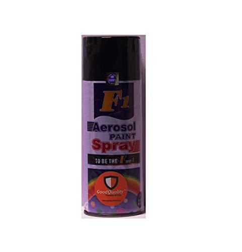 F1 Aerosol Spray Paint (Black Matt)
