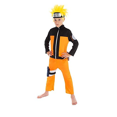 Chaks Déguisement Naruto Enfant 9 à 10 Ans (140 cm)