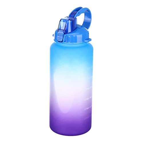 JWDS Botella deportiva Deportes Al Aire Libre Botellas De Agua Gimnasio A Prueba De Fugas A Prueba De Gotas Agitador Portátil Hervidor De Viaje Al Aire Libre Beber Agua