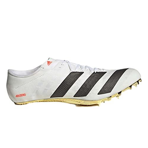 adidas Adizero Prime Tokyo męskie buty do biegania kolce białe/czarne/czerwone, - biały - 44 EU