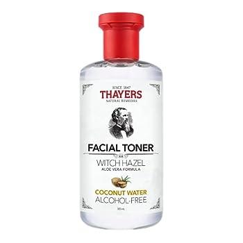 THAYERS Alcohol-Free Coconut Water Witch Hazel Facial Toner with Aloe Vera Formula 12 Ounce