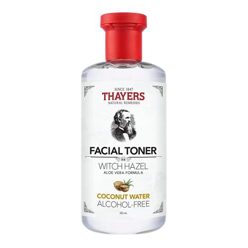 THAYERS Alcohol-Free Coconut Water Witch Hazel Facial Toner with Aloe Vera Formula, 12 Ounce