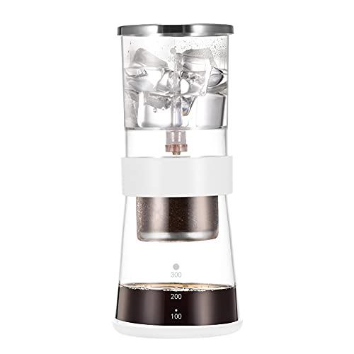 Café de cerveza fría, suministros de comedor cepillo de limpieza de tazón de inodoro 360 grados frío café gotero, de vidrio inoxidable cepillo de limpieza para baño