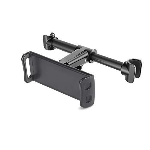 Soporte para reposacabezas de coche, compatible con dispositivos como iPad Pro Air Mini, tabletas, Google Nexus, otras tabletas de 4-11 pies y teléfonos móviles (actualización nueva 2021)