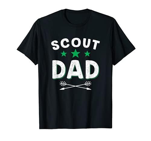 Hombre Scout Dad - Guía de camping Scouting para el día del padre, regalo divertido Camiseta