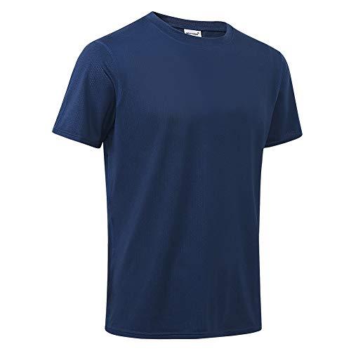 MeetHoo T-Shirt Homme,Tee Shirt Sport Manche Courte Séchage Rapide Respirant Baselayer Haut Running Fitness Gym