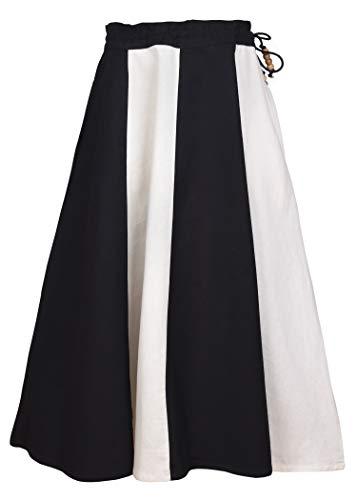 Middeleeuwse rok voor meisjes Lucia van katoen - gewand kinderkostuum middeleeuwse kleding Viking