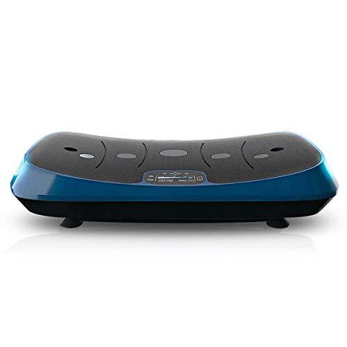 H.aetn Máquina de vibración para Todo el Cuerpo Máquina de Placas Fitness 4D, Entrenamiento en el hogar y pérdida de Peso Tonificación Entrenamiento Efectivo del Ejercicio