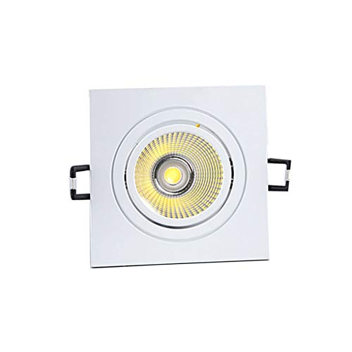 WRMOP Led-plafondlamp, inbouwlamp, vierkant, ultradun, 4000 K (warmwit), hal, woonkamer, business, bureau, hal R/19/12/26