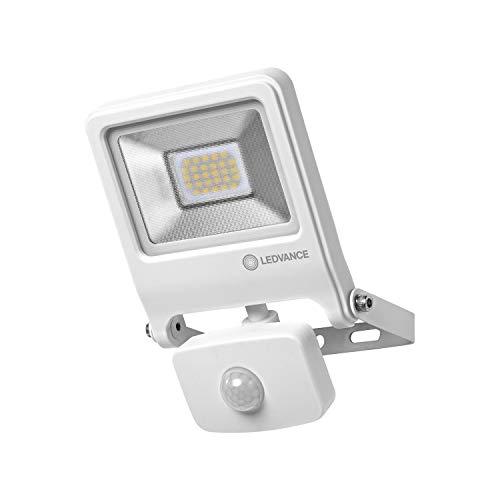 LEDVANCE LED Fluter, Leuchte für Außenanwendungen, Warmweiß, Integrierter Tageslicht- und Bewegungssensor, Endura Flood Sensor