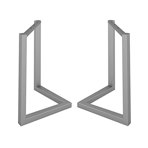Mesa Soporte de la pierna en forma de V Diseño creativo DIY 26.8 pulgadas Altura Escritorio Tabla de comedor Mesa de comedor Barra de pierna Pierna Columna de soporte de la pata de la tabla de la tabl