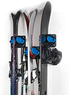 Gravity Grabber The Ultimate Ski Snowboard Wall Storage Rack Save Your Rocker Tips and Tails product image