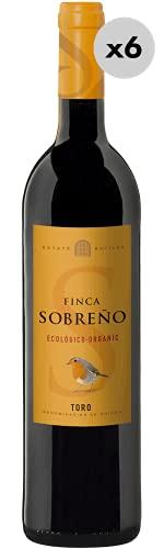 Finca Sobreño Orgánico, Vino Tinto, 6 Botellas, 75cl