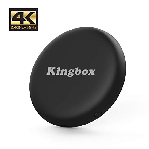 WiFi Display Dongle Chromecast di Google,Kingbox Miracast Dongle 4K HDMI, 2,4G+5G Wifi, Supporta Miracast/DLNA/Airplay,Display Mirroring per iOS/Android/iPad/Windows