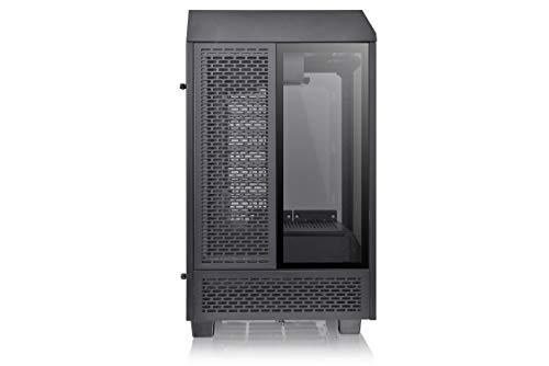 ThermaltakeTheTower100ミニタワーPCケース3面強化ガラスパネル搭載CA-1R3-00S1WN-00CS8080