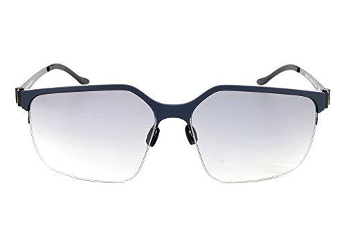 Mercedes-Benz Sonnenbrille M1037 Gafas de sol, Azul (Blau), 58.0 para Hombre