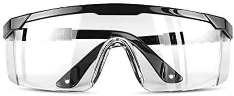 BGSP Gafas de Proteccion | Gafas Protectoras Transparentes de Trabajo | Ajustables | Proteccion UV | Anti-Vaho | Waterproof