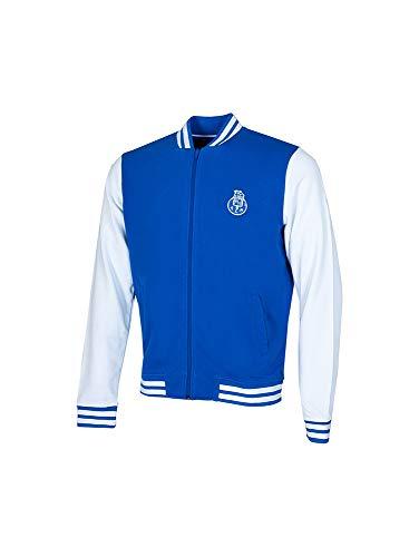 FC Porto CABEBAXL Jacke, Blau/Weiß, XL Unisex-Erwachsene