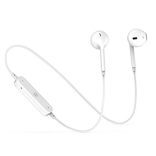 Cuffie Bluetooth, auricolari stereo in-ear con microfono, auricolari sportivi per palestra e corsa