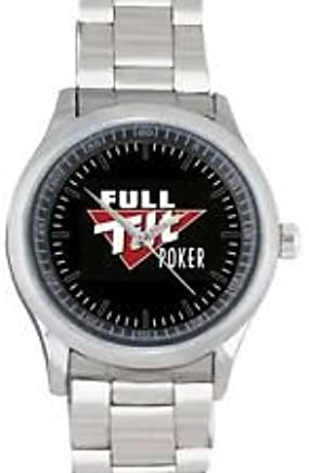 Amazon.com: Full Tilt Poker Stainless Watch Fit for Your Hoodie Hat & T Shirt: Cell Phones & Accessories