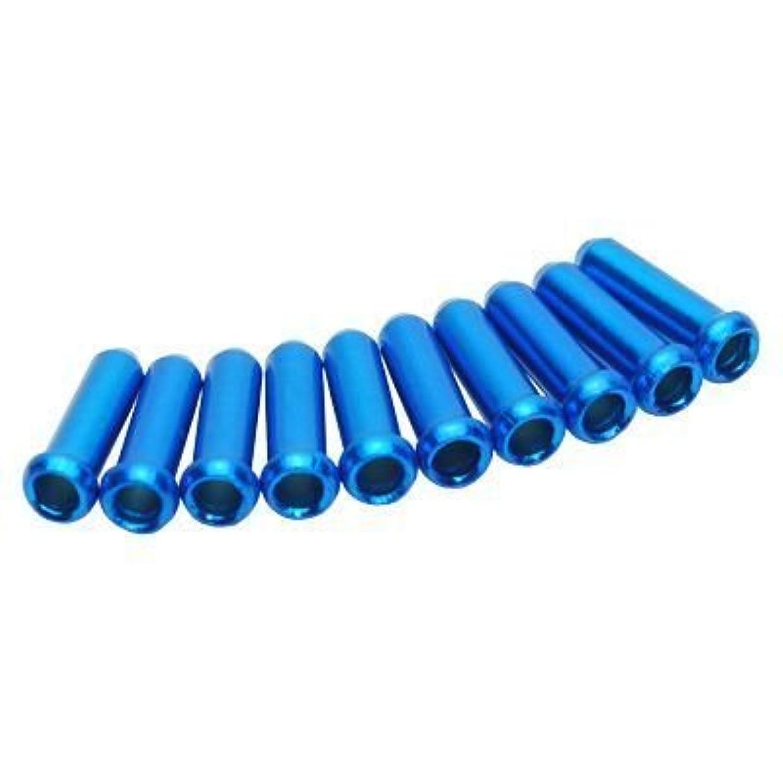 比較的植生同時【アストロプロダクツ】AP ブレーキワイヤーエンドキャップ ブルー(10個入)
