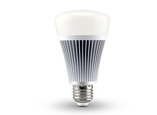 LIGHTEU, Ampoule LED Bluetooth sans fil 8W E27, Couleur RGB avec Blanc Chaud et Blanc Froid, Changement de Couleur LED Couleur Disponible - Contrôle sans fil - APP gratuit Assistance iOS Android