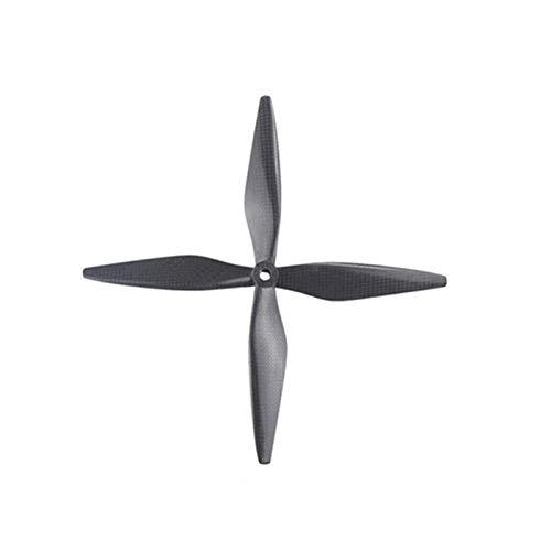 VIKTK 2 Parques FIT FOR para dji 1038 Propulsor 1038 Fibra de Carbono CF Props Blades 10 Pulgadas Ajuste para dji F450 F550 Drone Quadcopter 10x3.8 8mm
