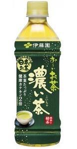 伊藤園 おーいお茶 濃い味 500ml×24本