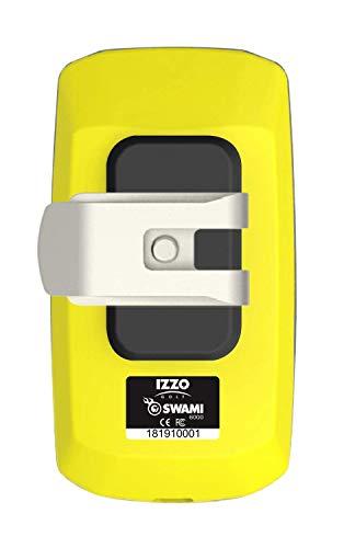 Izzo Golf Swami Handheld 6000 Golf GPS, Yellow, 3.75
