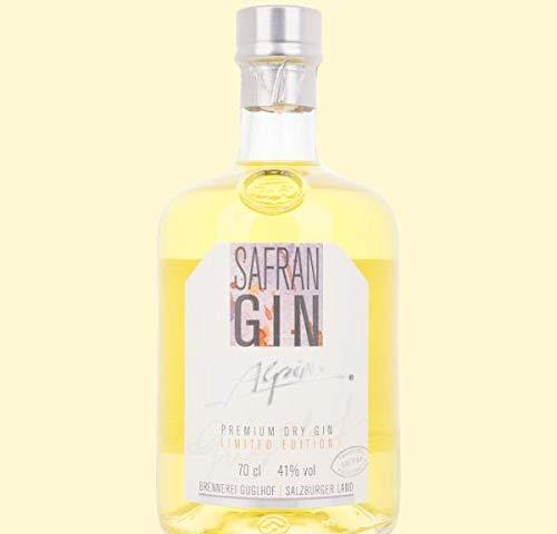 Guglhof Safran Gin Alpine Premium Dry Gin Limited Edition (1 x 0.7 l)